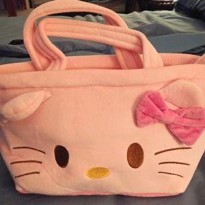 Fleece Hello Kitty Bag new